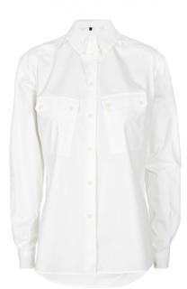 Приталенная блуза с накладными карманами Belstaff