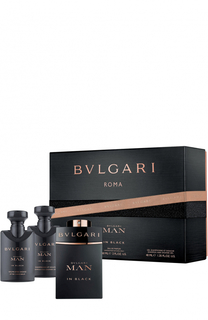 Набор Man In Black BVLGARI