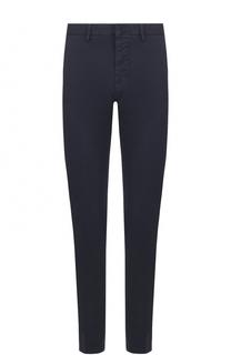 Хлопковые брюки чинос Ami
