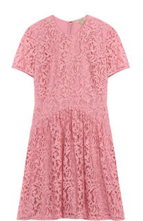 Кружевное приталенное мини-платье Burberry