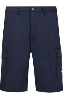 Хлопковые шорты с накладными карманами Paul&Shark Paul&Shark