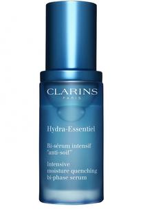 Интенсивно увлажняющая двухфазная сыворотка Hydra-Essentiel Clarins