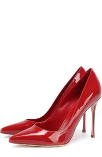 Лаковые туфли на шпильке Sergio Rossi