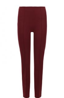 Укороченные брюки прямого кроя с фактурными стрелками Emilio Pucci