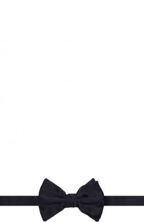 Шелковый галстук-бабочка Giorgio Armani