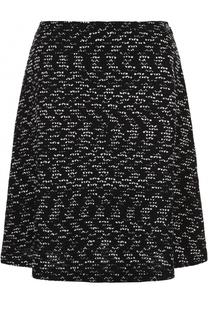 Буклированная мини-юбка St. John