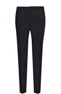 Хлопковые брюки прямого кроя Stella McCartney