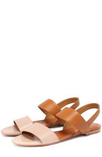 Сандалии из натуральной кожи Chloé