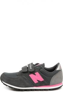 Кожаные кроссовки 420 с сетчатой вставкой New Balance