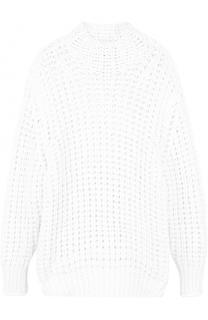 Удлиненный свитер фактурной вязки с высоким воротником Iro