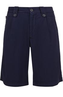 Хлопковые шорты свободного кроя Giorgio Armani
