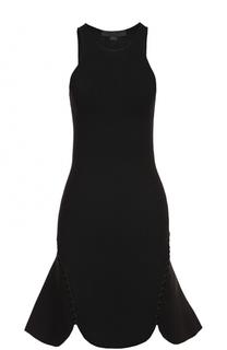 Приталенное мини-платье без рукавов Alexander Wang
