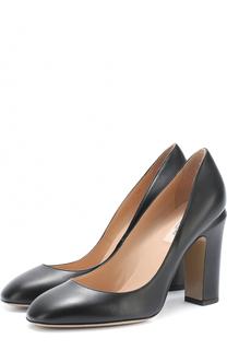 Кожаные туфли Tan-Go на устойчивом каблуке Valentino