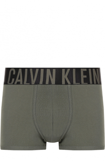 Хлопковые боксеры с широкой резинкой Calvin Klein