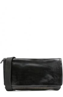 Кожаная поясная сумка с клапаном OXS rubber soul