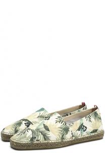 Текстильные эспадрильи с цветочным принтом Castaner