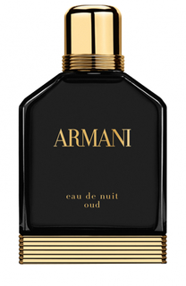 Парфюмерная вода Eau de Nuit Oud Giorgio Armani