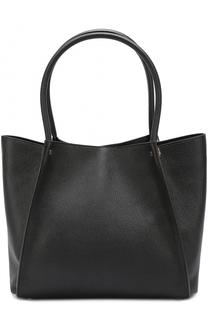 Кожаная сумка-шоппер Roberto Cavalli