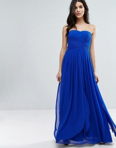 Платье макси Y.A.S Molly - Синий