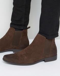 Ботинки челси из коричневой искусственной кожи ASOS - Коричневый