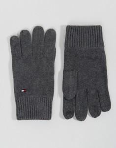 Перчатки с добавлением кашемира Tommy Hilfiger - Серый