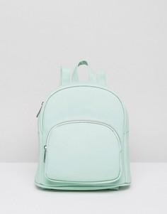 Маленький рюкзак с карманом спереди ASOS - Зеленый