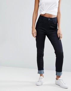 Супероблегающие джинсы с завышенной талией Levis Line 8 - Синий