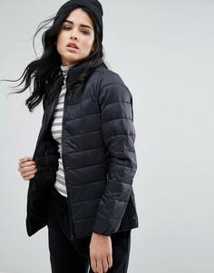 Короткая стеганая куртка b.Young - Черный