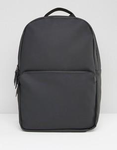 Черный рюкзак в стиле милитари Rains - Черный