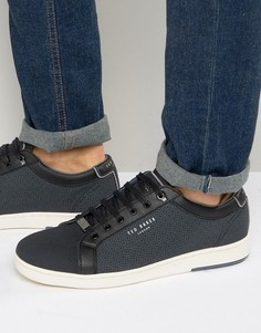 Кроссовки с принтом Ted Baker Ternur - Черный