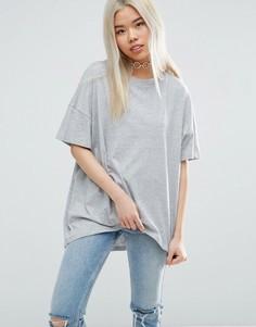 Oversize-футболка ASOS - Серый