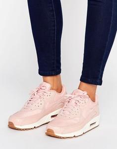 Розовые кроссовки-премиум Nike Air Max 90 - Розовый
