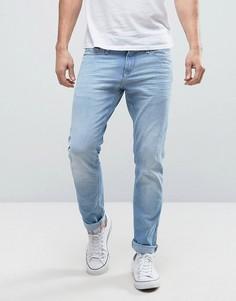 Узкие светло-голубые джинсы стретч Hilfiger Denim Sidney - Синий