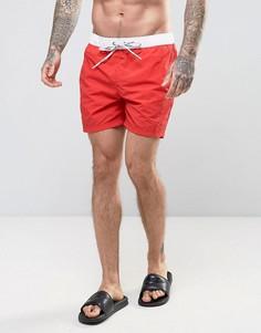 Красные шорты для плавания Tommy Hilfiger THD - Красный