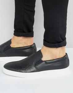 Кроссовки-слипоны Calvin Klein Ivo - Черный