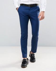Узкие строгие брюки Selected - Синий