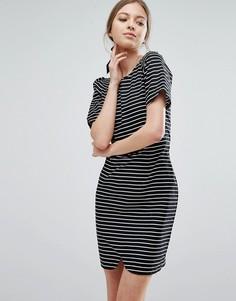 Полосатое платье-футляр Trollied Dolly - Черный