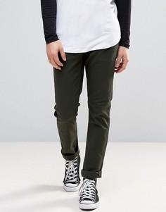 Узкие джинсы Globe Goodstock - Зеленый