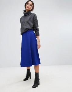 Трапециевидная юбка Unique 21 - Темно-синий