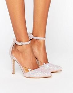 Блестящие туфли-лодочки Truffle Collection - Розовый