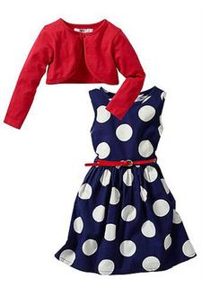 Комплект: платье + ремень + болеро