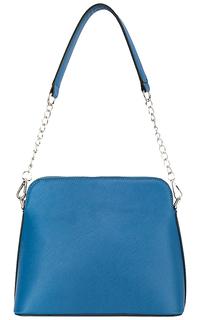 Синяя сумка из экокожи La Reine Blanche