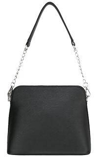 Черная сумка из экокожи La Reine Blanche