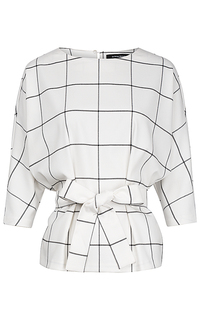 Блузка с поясом La Reine Blanche