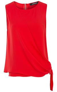 Красная блузка La Reine Blanche