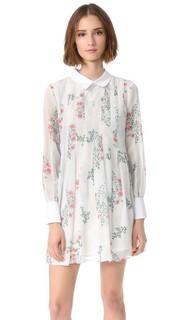 Платье Peony Blossom со складками English Factory
