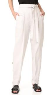 Свободные брюки с завязками спереди Helmut Lang