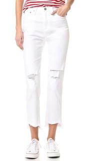 Зауженные джинсы с высокой талией Phoebe AG