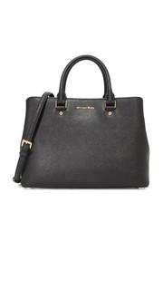 Большая сумка-портфель Savannah Michael Michael Kors