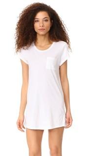 Пляжное платье-футболка Skin